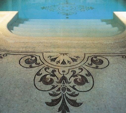 мозаика из камня для бассейнов