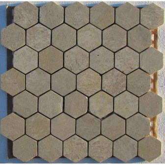 Hexagon Travertine 48