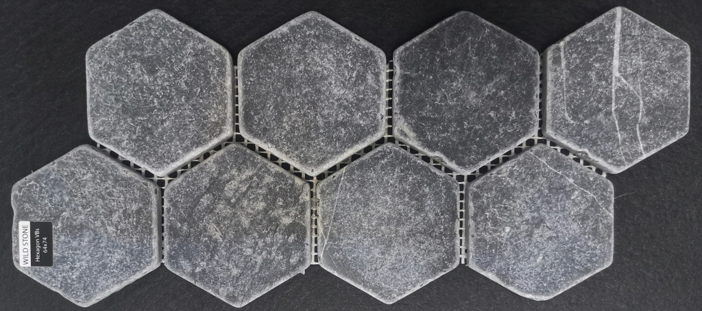 Hexagon VBs Tumbled 64x74